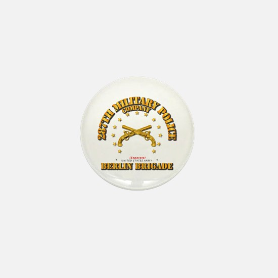 287th Mp Company - Berlin Brigade Mini Button