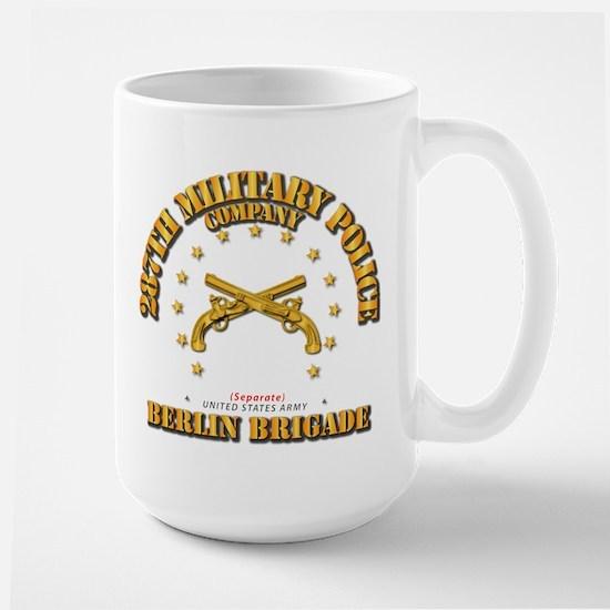 287th MP Company - Berlin Brigade Large Mug