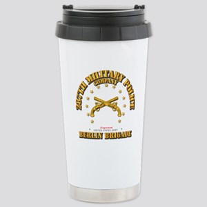 287th MP Company - Berl Stainless Steel Travel Mug
