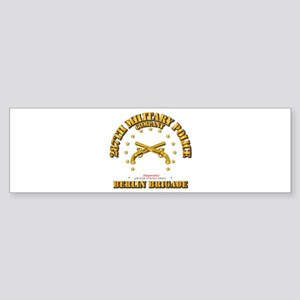 287th MP Company - Berlin Brigade Sticker (Bumper)