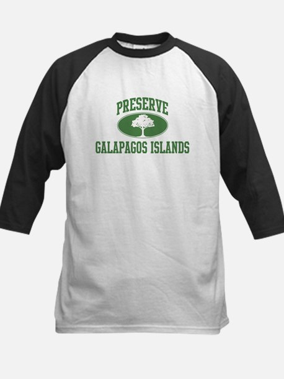 Preserve Galapagos Islands Kids Baseball Jersey