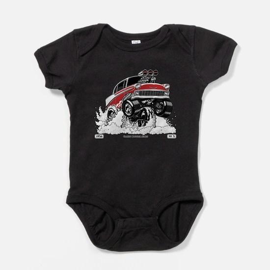 1956 Gasser wheelie-1 Baby Bodysuit
