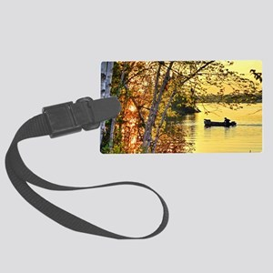 Heading Home Large Luggage Tag