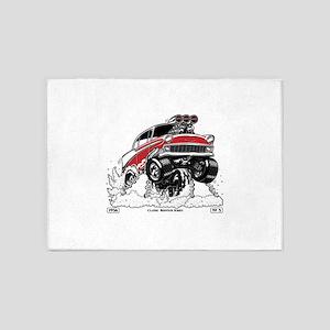 1956 Gasser wheelie-1 5'x7'Area Rug