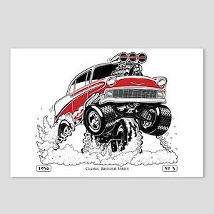 1956 Gasser wheelie-1 Postcards (Package of 8)