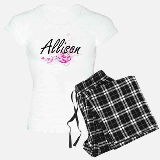 Allison Artistic Name Desig Pajamas