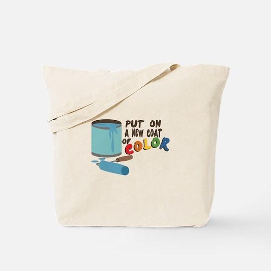 Coat Of Color Tote Bag
