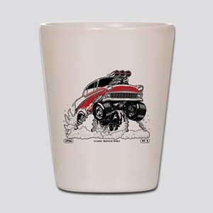 1956 Gasser wheelie-1 Shot Glass