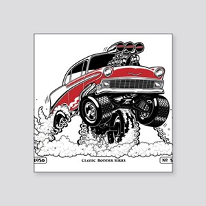 1956 Gasser wheelie-1 Sticker