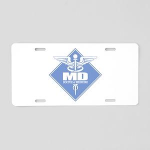 MD (b)(diamond) Aluminum License Plate