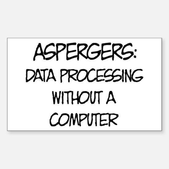 Aspergers Geek Decal