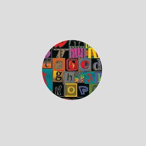 ABCDEFG Mini Button