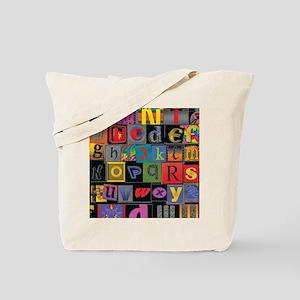 ABCDEFG Tote Bag