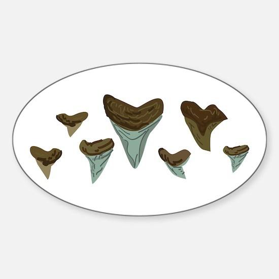 Shark Teeth Decal