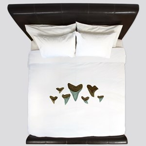 Shark Teeth King Duvet