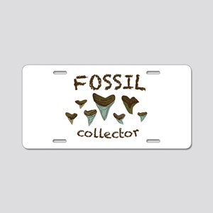 Fossil Collector Aluminum License Plate