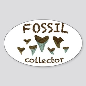 Fossil Collector Sticker