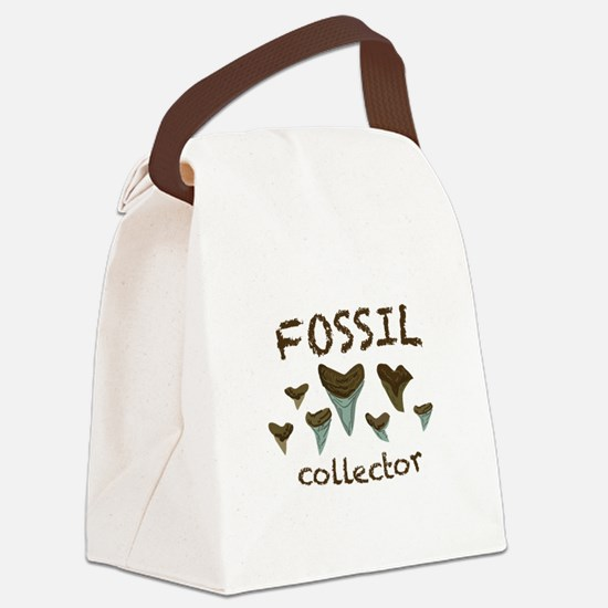 Fossil Collector Canvas Lunch Bag