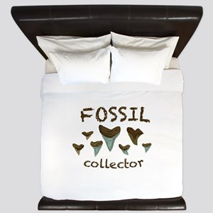 Fossil Collector King Duvet
