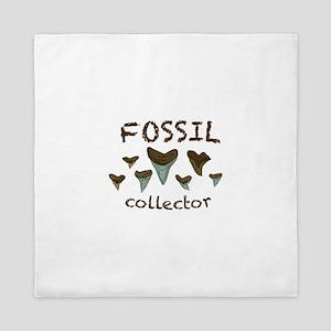 Fossil Collector Queen Duvet