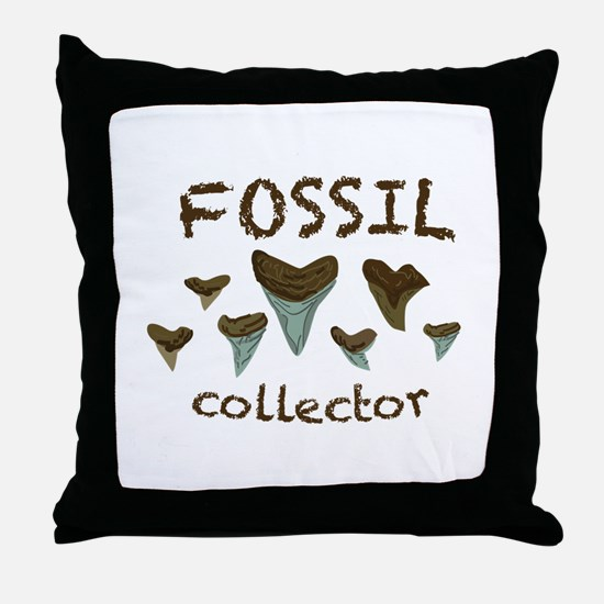 Fossil Collector Throw Pillow