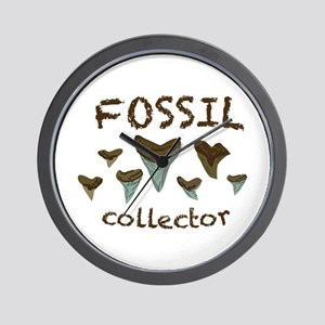 Fossil Collector Wall Clock