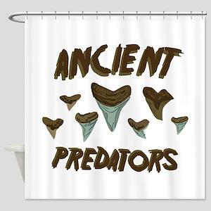 Ancient Predators Shower Curtain