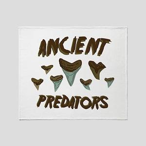 Ancient Predators Throw Blanket