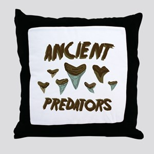 Ancient Predators Throw Pillow