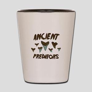 Ancient Predators Shot Glass
