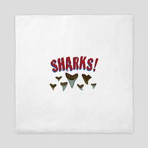 Sharks Teeth Queen Duvet
