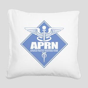APRN (b)(diamond) Square Canvas Pillow