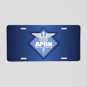 APRN (b)(diamond) Aluminum License Plate