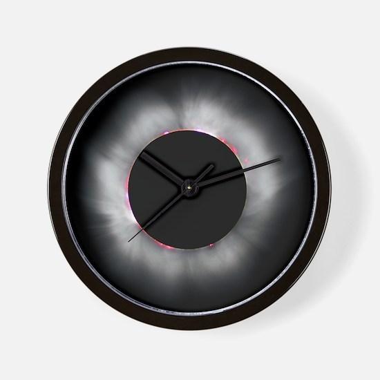 Total Solar Eclipse 1999 Wall Clock