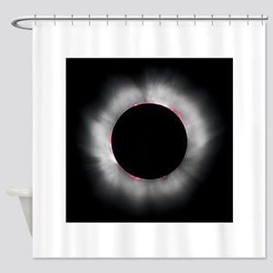 Total Solar Eclipse 1999 Shower Curtain