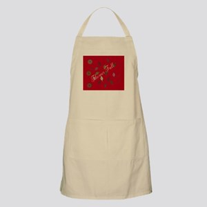 Chic Floral Fall Light Apron