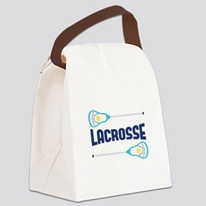 Lacrosse Canvas Lunch Bag