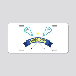 Lacrosse Sticks Aluminum License Plate