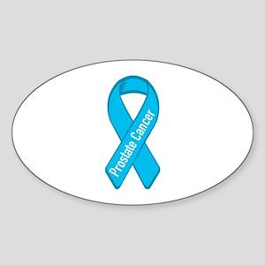Prostate Cancer Oval Sticker