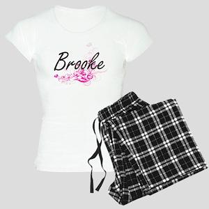 Brooke Artistic Name Design Women's Light Pajamas