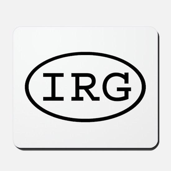 IRG Oval Mousepad