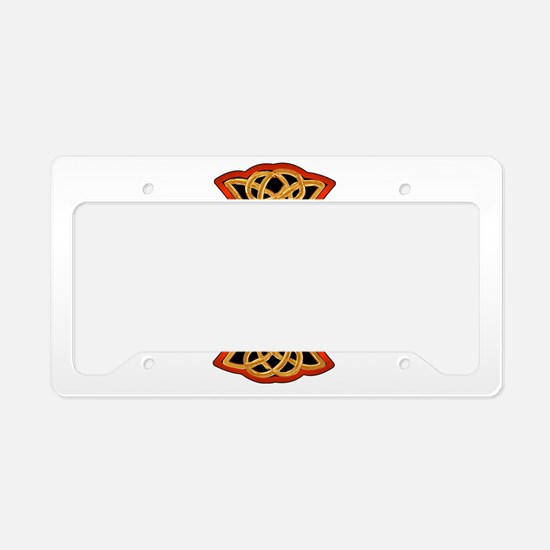 Christian Celtic Cross License Plate Holder