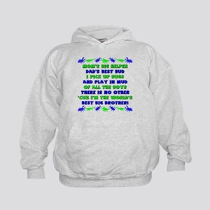 Best Big Brother Kids Hoodie
