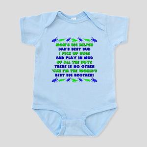 Best Big Brother Infant Bodysuit