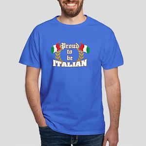 Proud to be Italian Dark T-Shirt