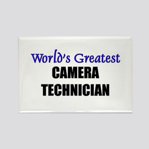 Worlds Greatest CAMERA TECHNICIAN Rectangle Magnet