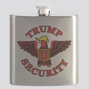 Trump Election Security Flask
