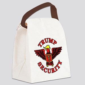 Trump Election Security Canvas Lunch Bag