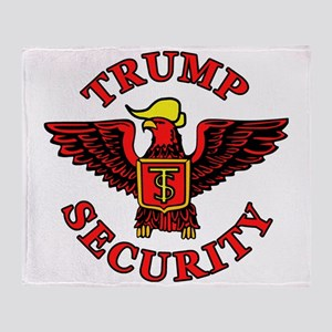 Trump Election Security Throw Blanket