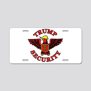 Trump Election Security Aluminum License Plate